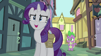 "Rarity ""this is exactly what I'm talking about!"" S4E23"
