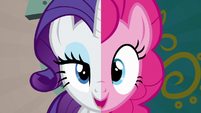 "Pinkie and Rarity ""we know what you need to do"" S6E12"