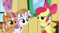 Apple Bloom shares real idea S2E23