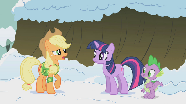 File:Applejack doubting Twilight S1E11.png