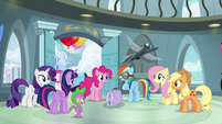 "Rainbow Dash ""finally been recognized"" S6E7"