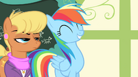 "Rainbow Dash ""you're going to the Games"" S4E05"