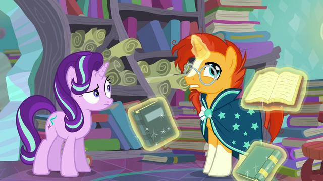 """File:Sunburst """"But I-I get the feeling the princess"""" S6E2.png"""