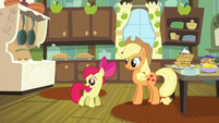 Apple Bloom spinning with excitement S5E4