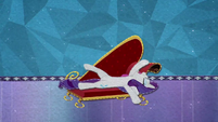 Rarity falls onto her fainting couch BFHHS5
