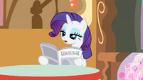 "Rarity ""It's no big deal"" S2E23"
