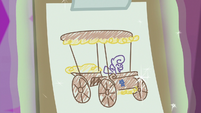 Sweetie Belle's cart design sketch S6E14