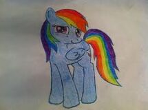 FANMADE Rainbow Dash Pencil Sketch
