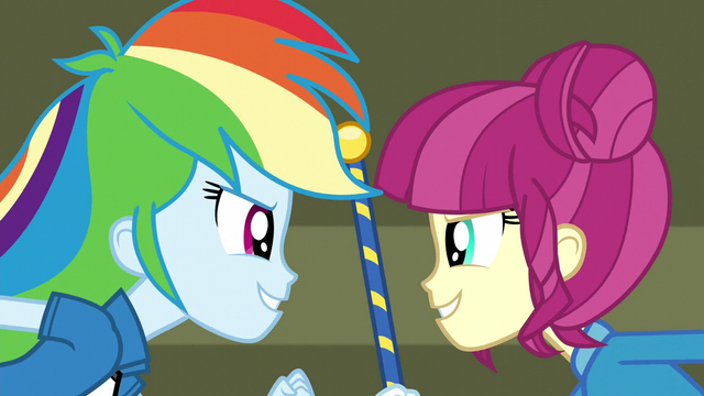 "File:Rainbow and drum majorette ""At the end"" EG3.png"