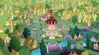 Ponyville overview S2E17
