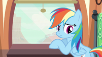 "Rainbow Dash ""dead end"" S2E14"