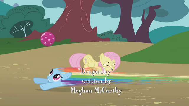 File:Rainbow Dash speeds under the ball S1E07.png