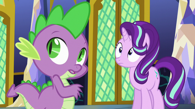 File:Spike and Starlight hear Twilight's voice S6E1.png
