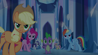Twilight's friends spring into action EG