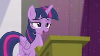 "Twilight ""the future of Equestrian magic"" S5E25"