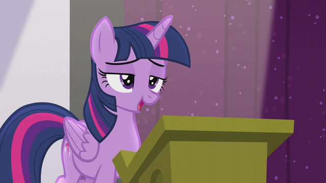 "File:Twilight ""the future of Equestrian magic"" S5E25.png"