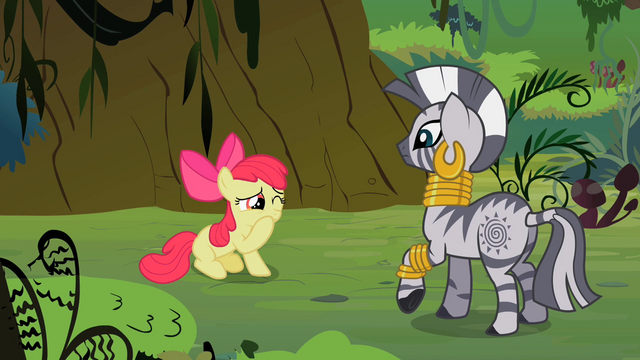 File:Apple Bloom holding her mouth closed in pain S2E6.png