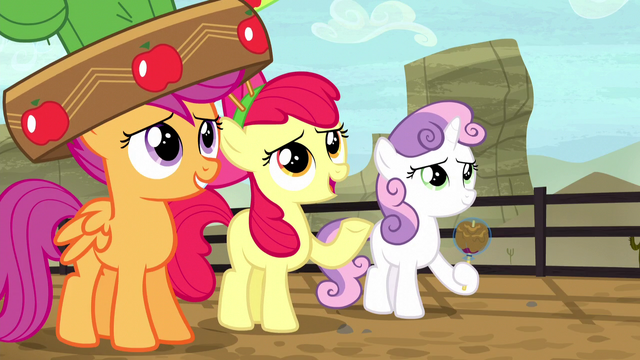 File:Apple Bloom changes the subject S5E6.png