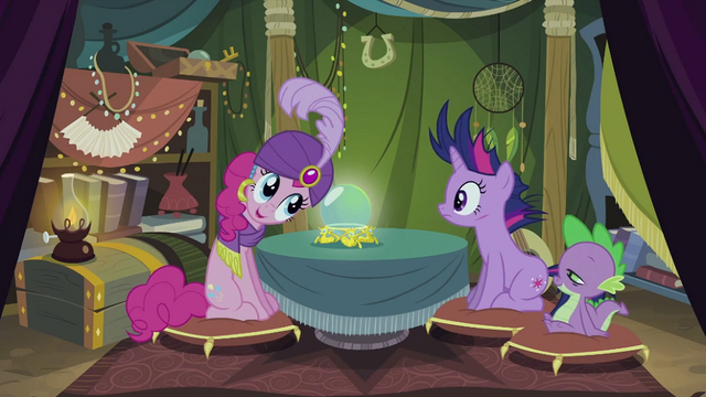"File:Madame Pinkie Pie ""I just got it"" S2E20.png"