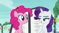 "Rarity ""I will stay here and distract Maud"" S6E3"