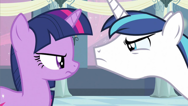 File:Twilight & Shining Armor stare off S2E25.png
