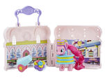Explore Equestria Pinkie Pie Donut Shop Playset open