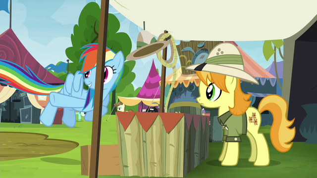 "File:Rainbow Dash ""so here you go"" S4E22.png"