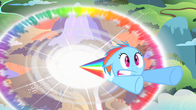 File:Filly Rainbow Dash sonic rainboom S1E23.png