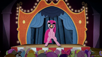 Pinkie Pie standing on a stage BFHHS4