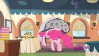 Pinkie runs up to table S2EP24