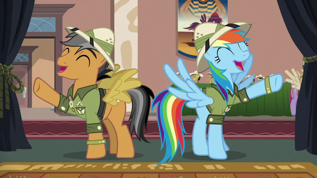 "File:Rainbow and Quibble ""awesomest thing ever!"" S6E13.png"