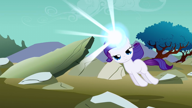 File:Filly Rarity being pulled along S1E23.png