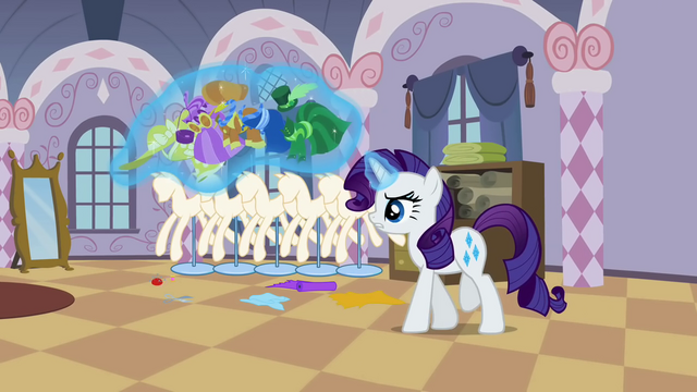 File:Rarity levitating the clothes S2E05.png