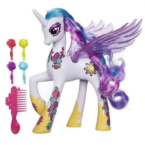 File:Princess Celestia Ponymania doll.jpg