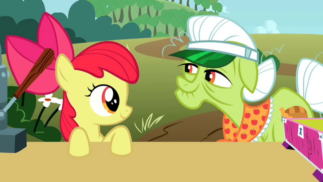File:Apple Bloom and Granny Smith S2E15.png