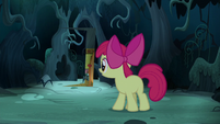 Apple Bloom watches invisible door close S5E4