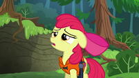Apple Bloom wearing life jacket S6E4