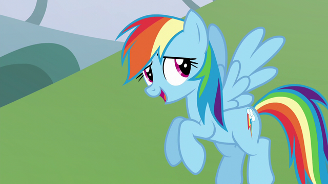 "File:Rainbow Dash ""does it really matter?"" S5E22.png"