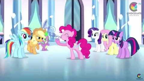 My Little Pony The Ballad of the Crystal Empire (Thai VCD)