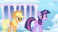 Applejack and Twilight1 S01E16