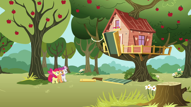 File:CMC looks at their now-occupied clubhouse S3E04.png
