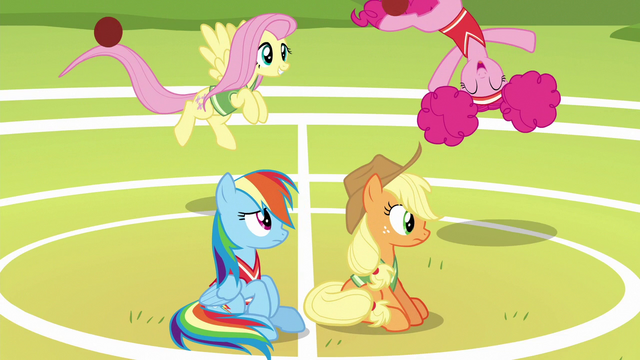 File:Rainbow and AJ watch Fluttershy and Pinkie have fun S6E18.png