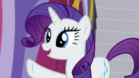 "Rarity ""when Sassy showed me her resumé"" S5E14"