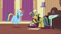 "Daring Do ""just keep your eyes out"" S6E13"