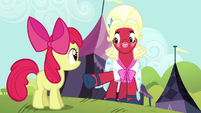 "Orchard Blossom ""you wanted to win it THIS Sisterhooves Social"" S5E17"