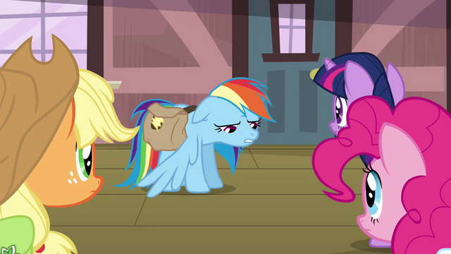 "File:Rainbow Dash ""got the bad news"" S03E12.png"