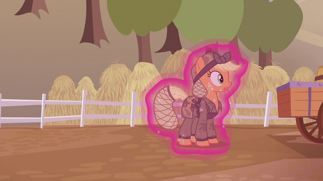File:Applejack about to get dragged away S5E25.png