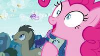 Pinkie Pie overcome by cuteness S4E16