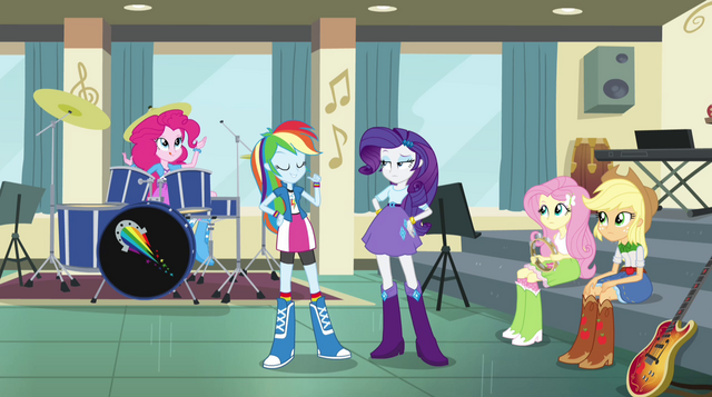 "File:Rainbow Dash ""I'm the lead singer and guitarist"" EG2.png"