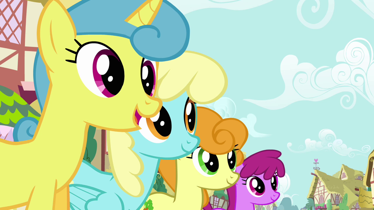 Image - Pinkie Pie's song pony crowd 4 S2E18.png | My ... - photo#16